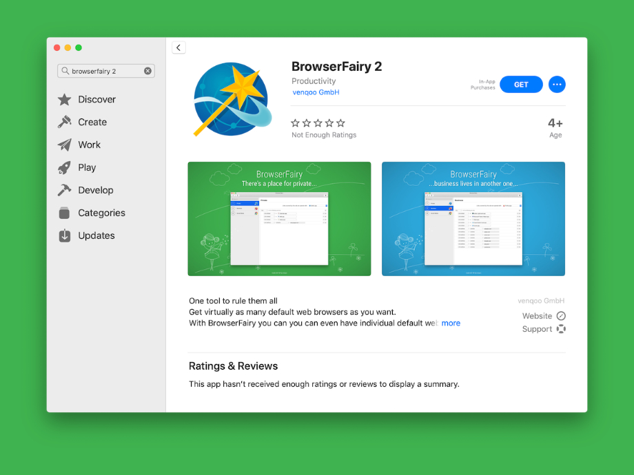 BrowserFairy 2 for Mac - a fresh start