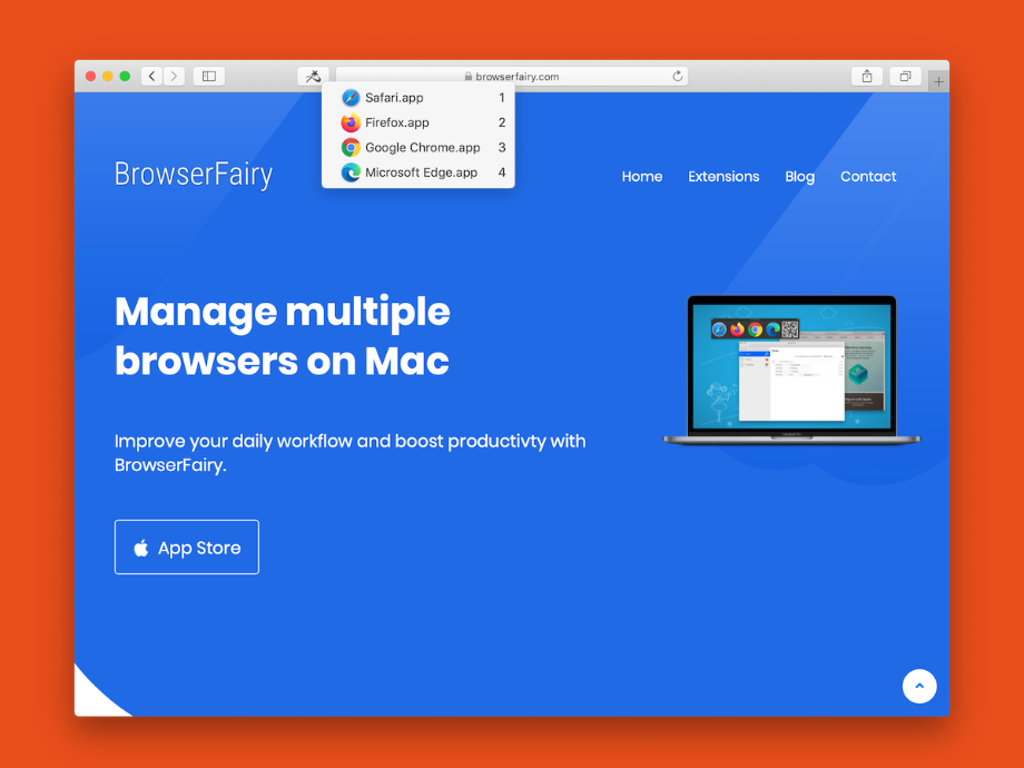BrowserFairy 2 for Mac - a new BrowserSelector
